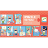 Djeco The day- puzzle of 10 pieces