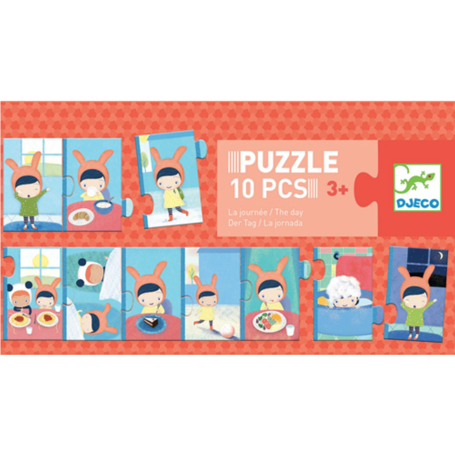 The day- puzzle of 10 pieces-1