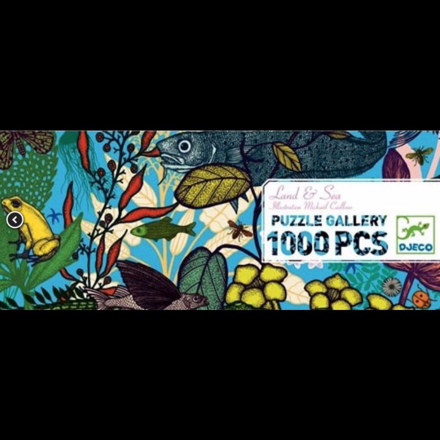 Land en Zee - puzzel van 1000 stukjes-1