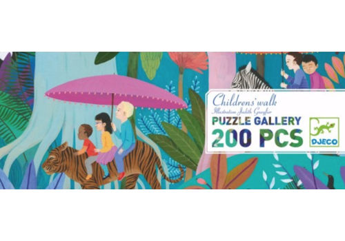Children's walk - 200 pieces