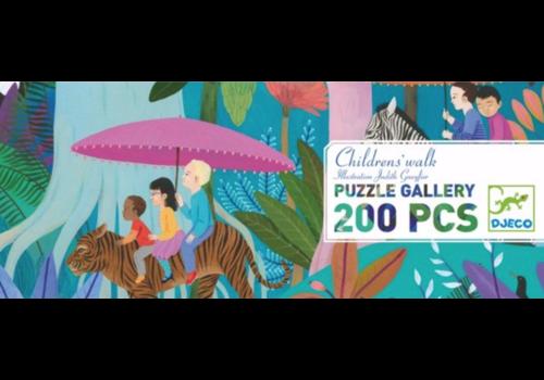 Wandeling van de kinderen - 200 stukjes