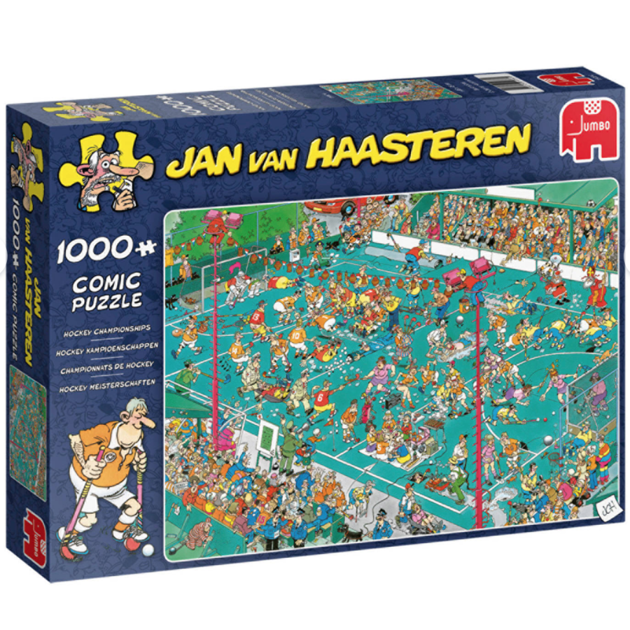 Hockey Championships - JvH - 1000 pieces-1