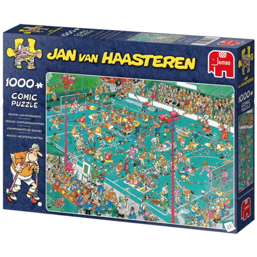 Hockey Championships - JvH - 1000 pieces-2