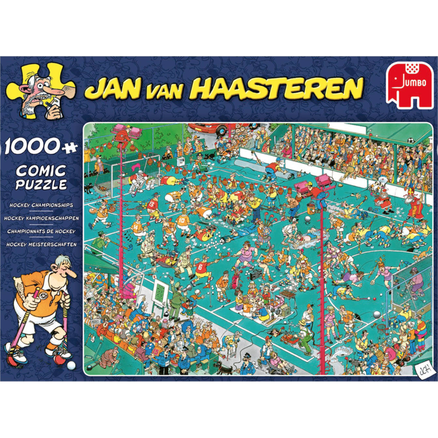 Hockey Championships - JvH - 1000 pieces-3