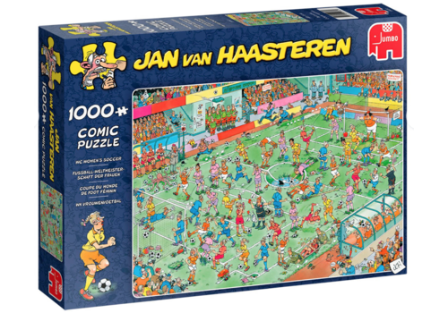 PRE-ORDER: WC Womens Soccer - JvH - 1000 pieces