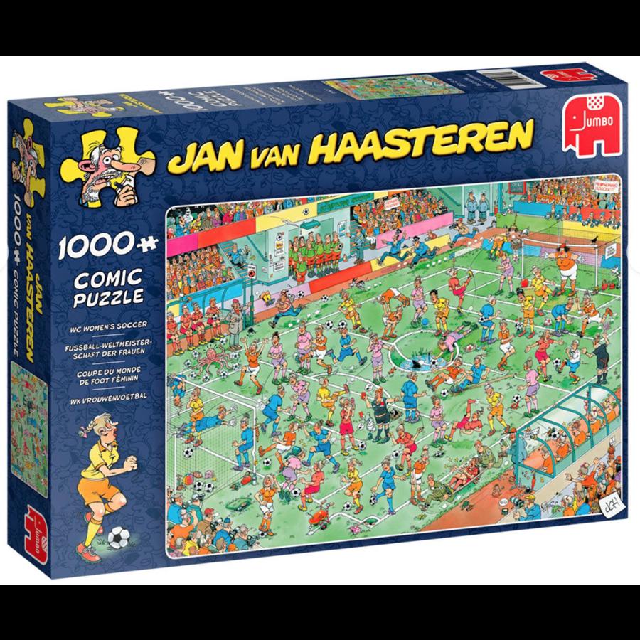 Coupe du monde de foot féminin - JvH - 1000 pièces-1