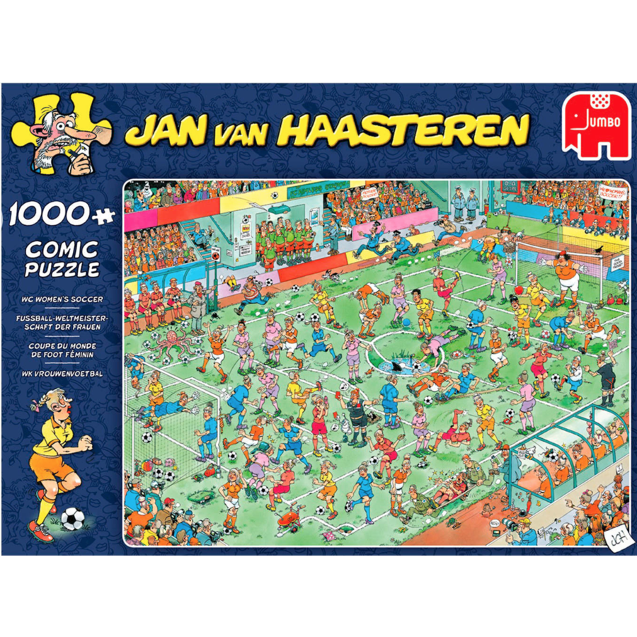 Coupe du monde de foot féminin - JvH - 1000 pièces-4