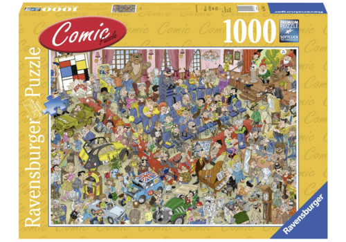 Ravensburger De veiling - Comic puzzle - 1000 stukjes
