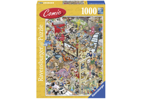 Ravensburger Hollywood - Comic puzzle - 1000 stukjes