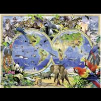 thumb-World of Wildlife - 300 stukjes-1