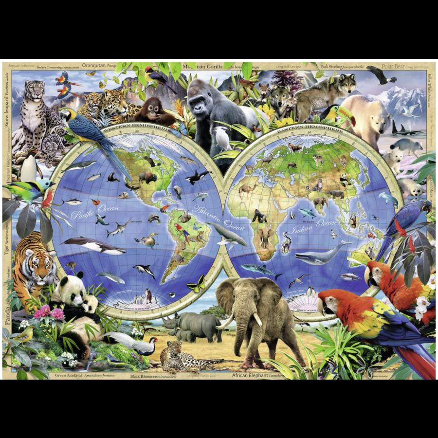 World of Wildlife - 300 stukjes-1