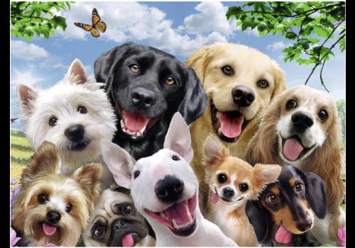 Hondenselfie - 300 stukjes