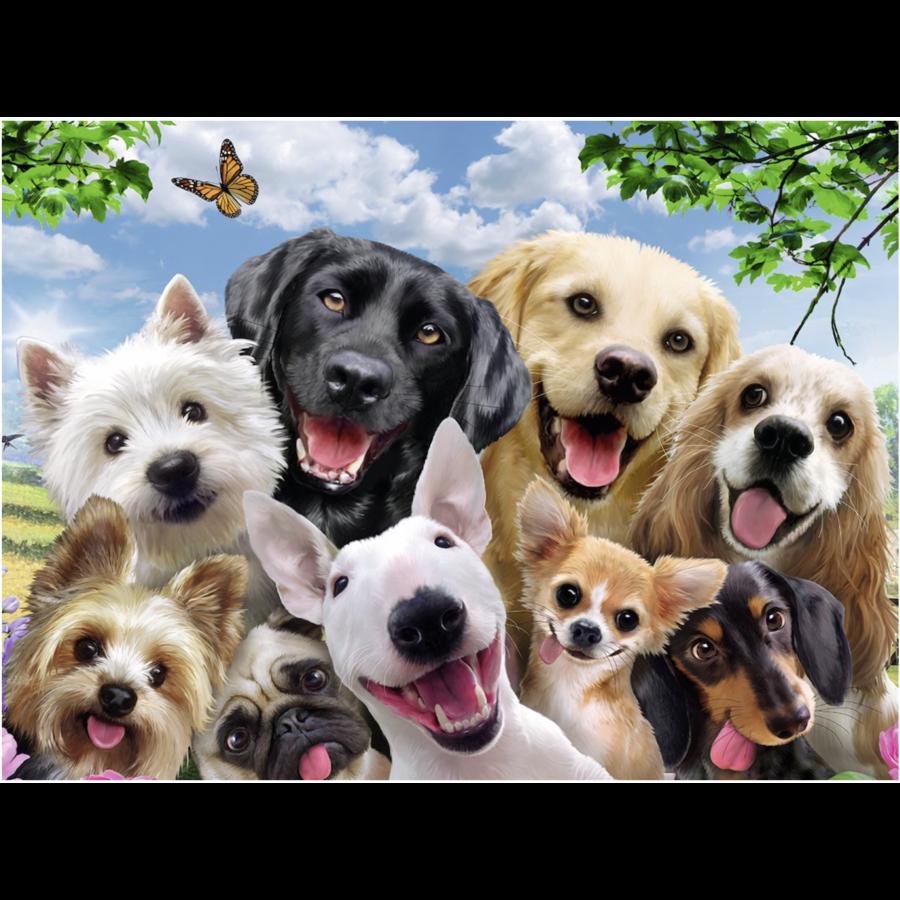 Hondenselfie - 300 stukjes-1