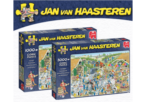 PRE-ORDER: The Winery - JvH - 3000 pieces