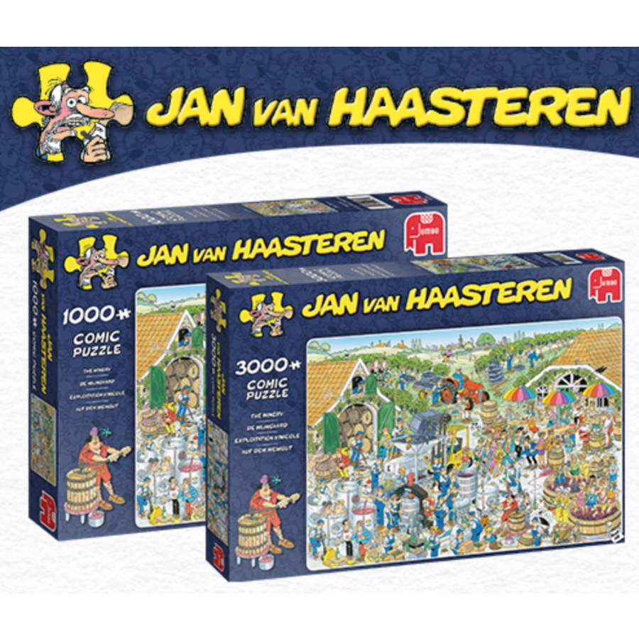 PRE-ORDER: The Winery - JvH - 3000 pieces-1