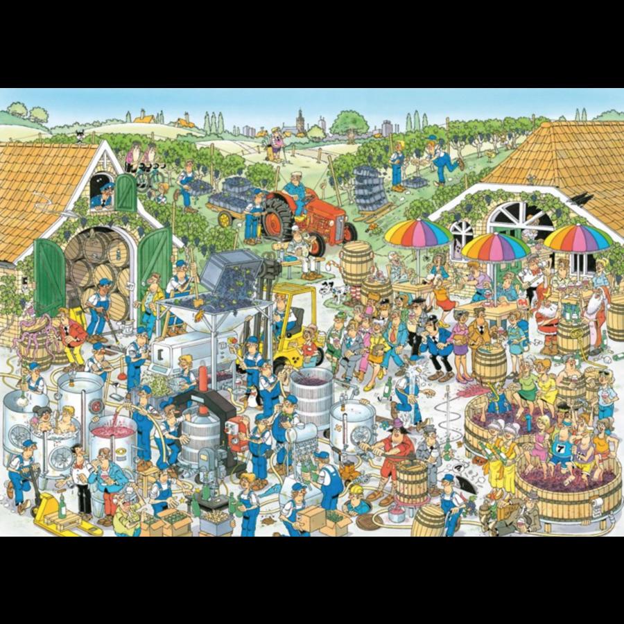 La Cave à vin  - JvH - 1000 pièces-1