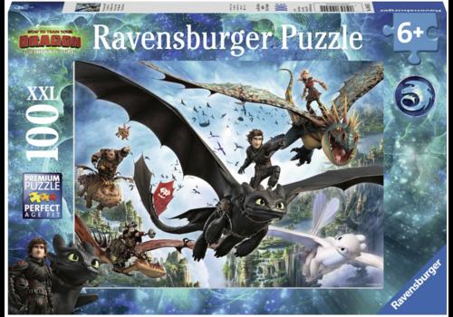 Dragons 3 - De verborgen wereld - 100 stukjes