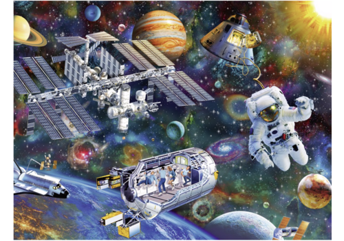Cosmic exploration - 200 pieces