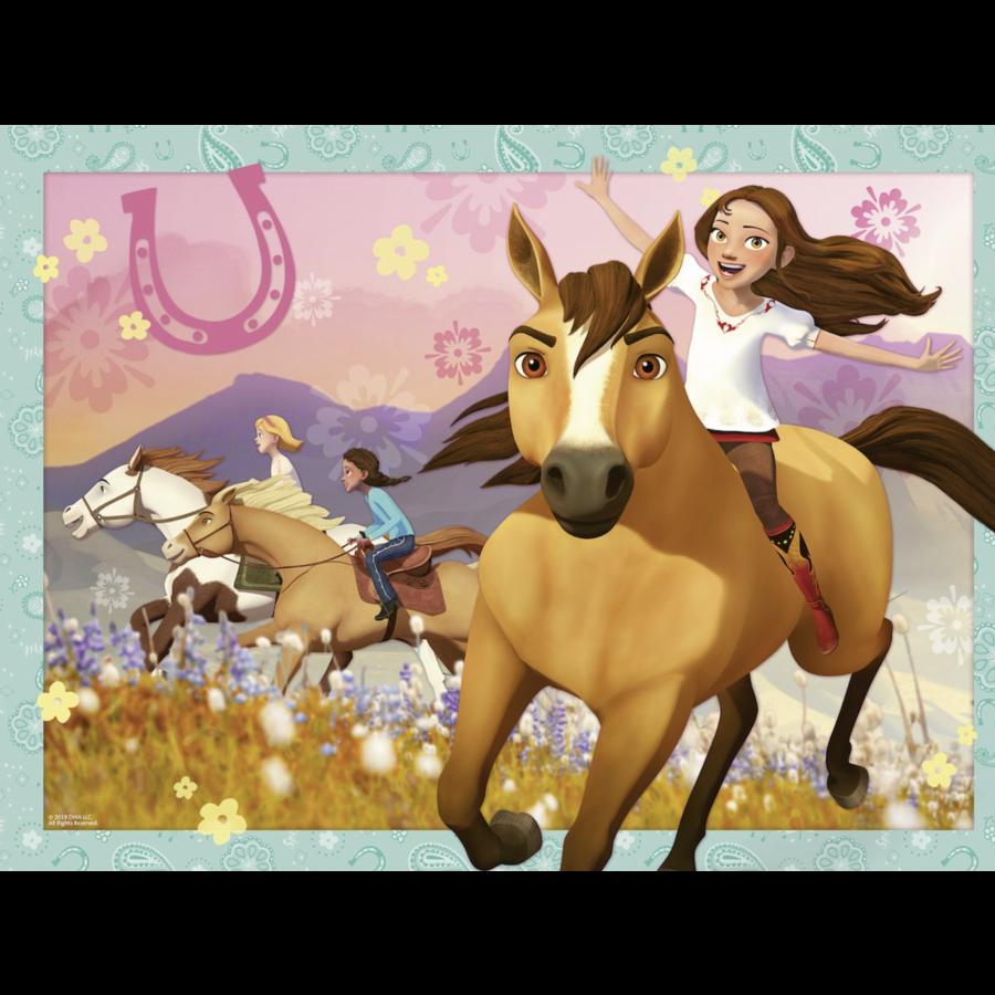 Spirit: Wild and Free - puzzel van 150 stukjes-2