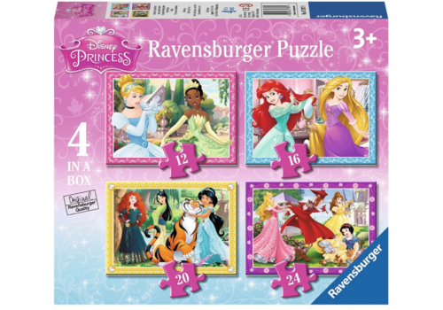 Disney Prinsessen - 12+16 +20 +24 stukjes
