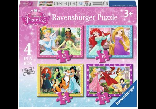 Ravensburger Princesses Disney - 12+16 +20 +24 pièces