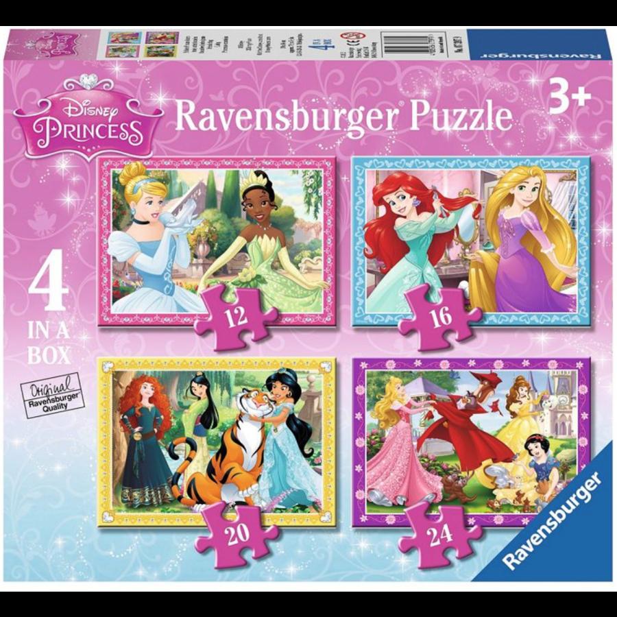 Disney Prinsessen - 12+16 +20 +24 stukjes-1