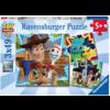 Ravensburger Toy Story  - 3 puzzels van 49 stukjes