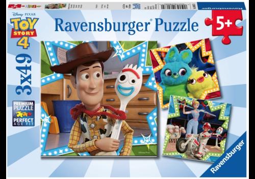 Ravensburger Toy Story - 3 x 49 stukjes