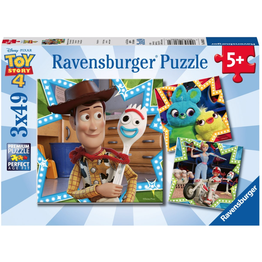 Toy Story  - 3 puzzels van 49 stukjes-1