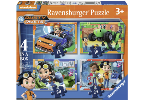 Rusty Rivets - 12 + 16 + 20 + 24 pieces