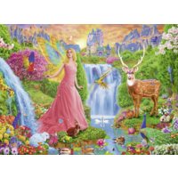 thumb-La fée magique - Puzzle de 200 pièces-2