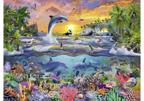 Paradis tropical - 100 pièces