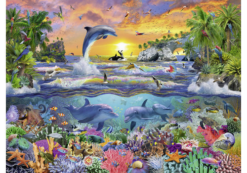 Tropisch paradijs  - 100 stukjes