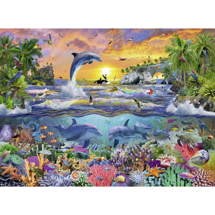 Tropisch paradijs - puzzel van 100 stukjes-1