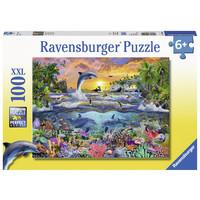 thumb-Tropisch paradijs - puzzel van 100 stukjes-2