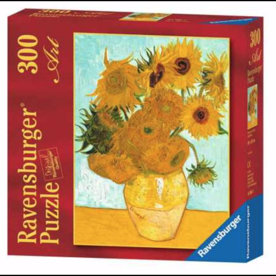 De zonnebloemen - Vincent Van Gogh - 300 XL stukjes-1