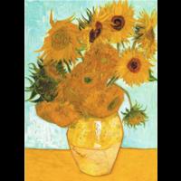 thumb-De zonnebloemen - Vincent Van Gogh - 300 XL stukjes-2