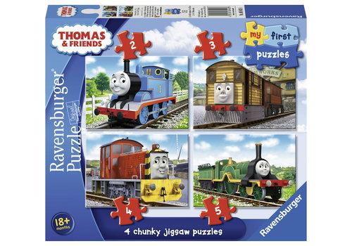 Ravensburger Thomas le train - Puzzles 2, 3, 4 et 5 pièces