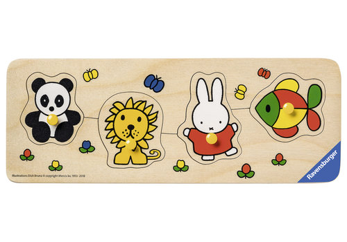 Miffy in the zoo - 4 pieces