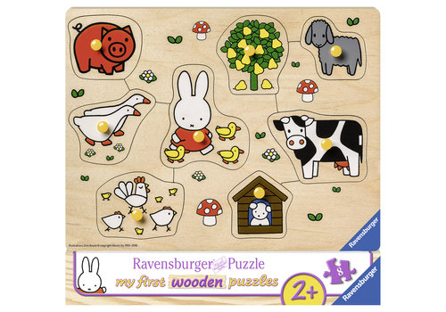 Miffy on the farm - 8 pieces