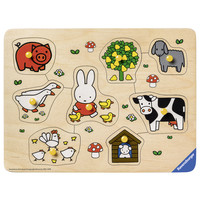 thumb-Miffy on the farm - 8 pieces-2