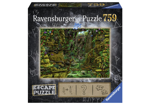 Escape Puzzel 2: De tempel Ankor Wat - 759 stukjes