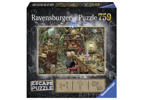Escape Puzzel 3: De heksenkeuken - 759 stukjes