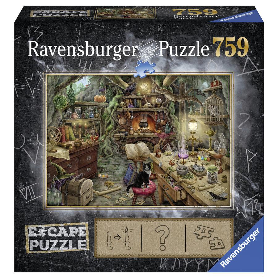 Escape Puzzel 3: De heksenkeuken - 759 stukjes-1