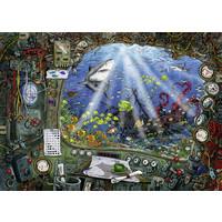 thumb-Escape Puzzel 4: De onderzeeër - 759 stukjes-2