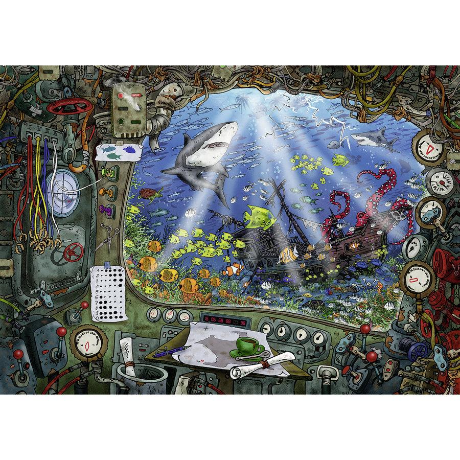 Escape Puzzle 4: The Underwater - 759 pieces-2