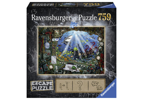 Ravensburger Escape Puzzle 4 : Sous l'eau - 759 pièces