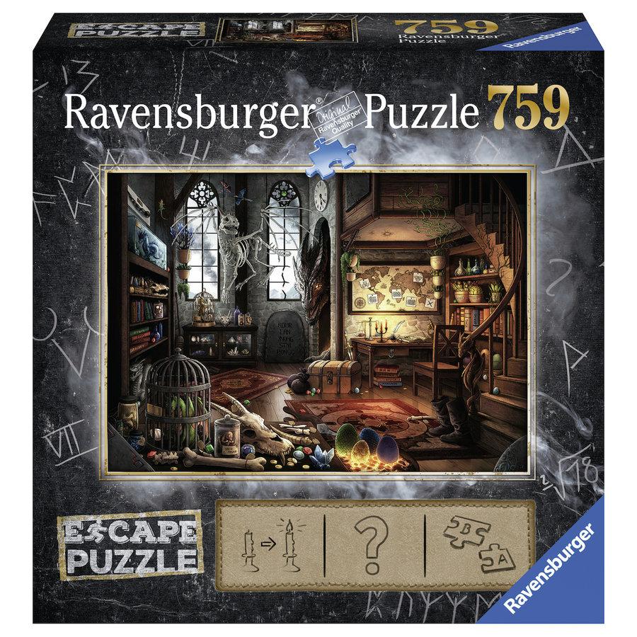 Escape Puzzel 5: Draken laboratorium - 759 stukjes-1