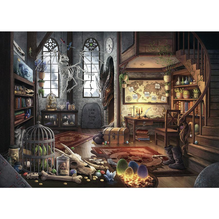 Escape Puzzle 5: Dans le labo de dragonologie  - 759 pièces-2
