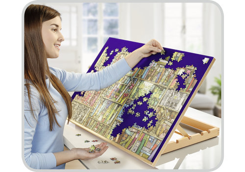 Ergonomic Puzzle board - for puzzles up to 1000 pieces